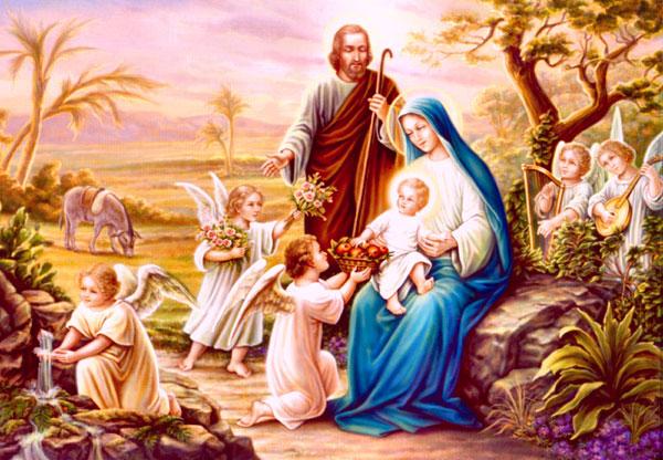 Католические четки на Рождество