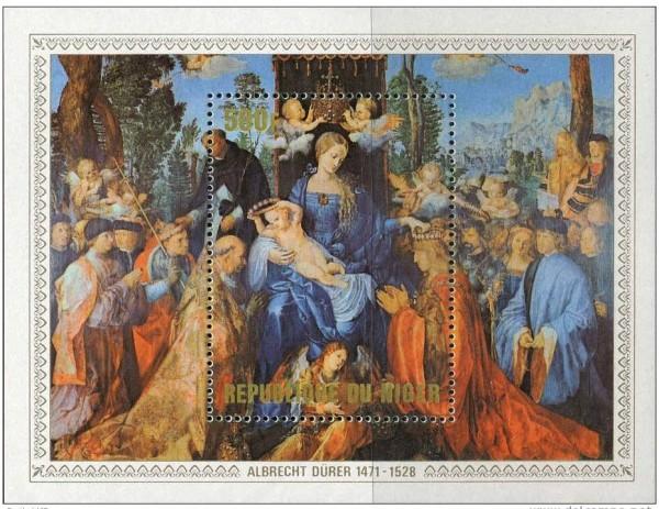 Мадонна на марках разных стран: библейский символизм в филателии. Статья на портале Четки24.рф