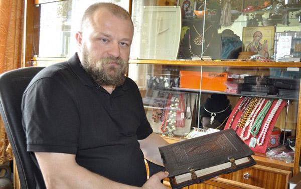 Четки Виталий Михайловского - четки из камней