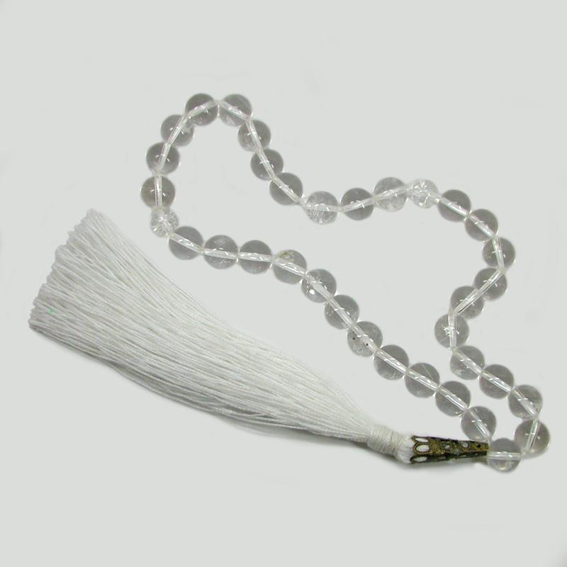 Купить четки «Чистота души» ручной работы из горного хрусталя в интернет-магазине Chetki24.ru
