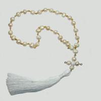Купить четки христианские «Ульфина» ручной работы из жемчуга и кахалонга в интернет-магазине Chetki24.ru