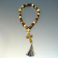 Купить христианские деревянные четки мира ручной работы из можжевельника в интернет-магазине Chetki24.ru