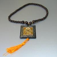 Купить четки мысли деревянные христианские ручной работы из орехового дерева в интернет-магазине Chetki24.ru