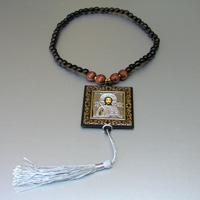 Купить четки размышлений деревянные христианские ручной работы из орехового дерева в интернет-магазине Chetki24.ru