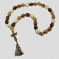 Купить четки деревянные «Анатеа» ручной работы из осины, абрикоса, черешни и сливы в интернет-магазине Chetki24.ru