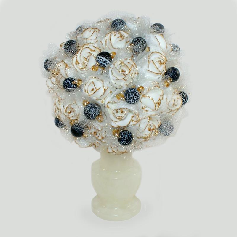 Цветы из агата Фрериан