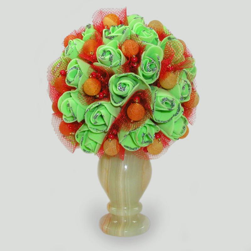 Цветы из агата Тараос