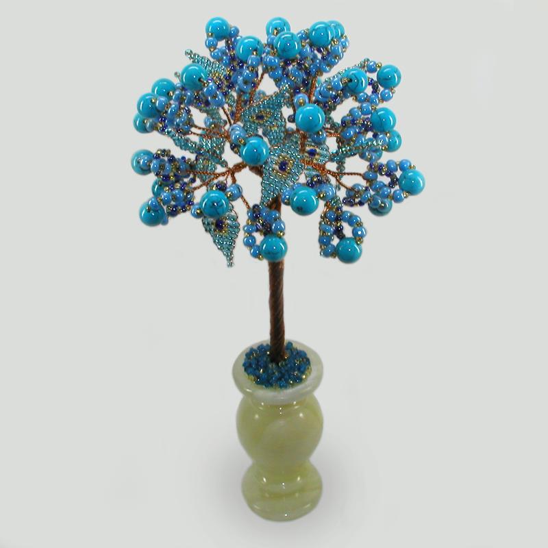 Дерево из бирюзы Эвенд