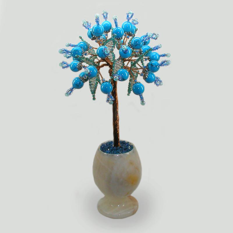 Дерево из бирюзы Ниара