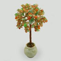 Дерево из сердолика и хризолита Аланна