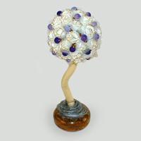 Дерево-топиарий из агата Марития