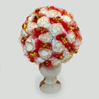 Цветы из янтаря Тейсия