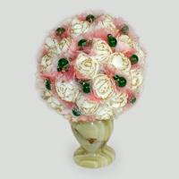 Цветы из нефрита Веики