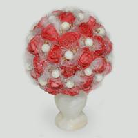 Цветы из перламутра Джерил