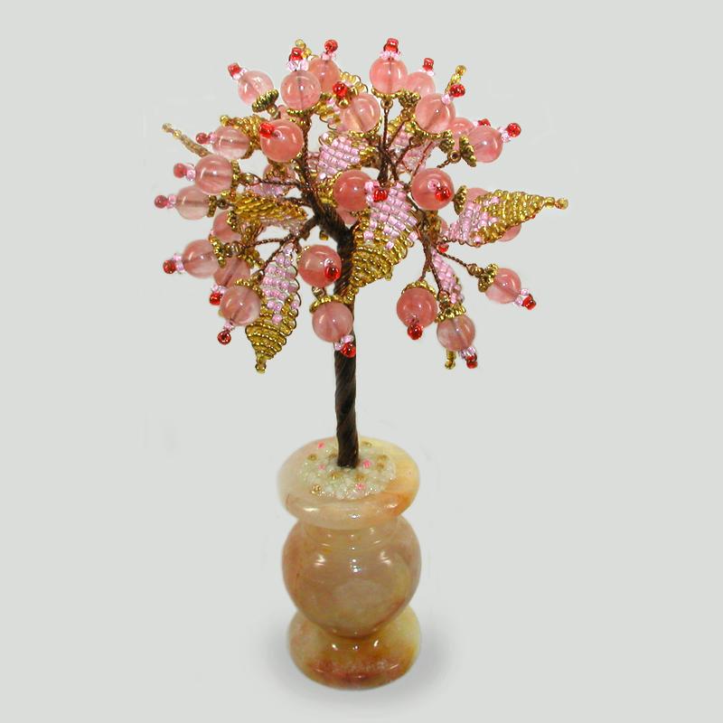 Дерево любви из халцедона Кейна