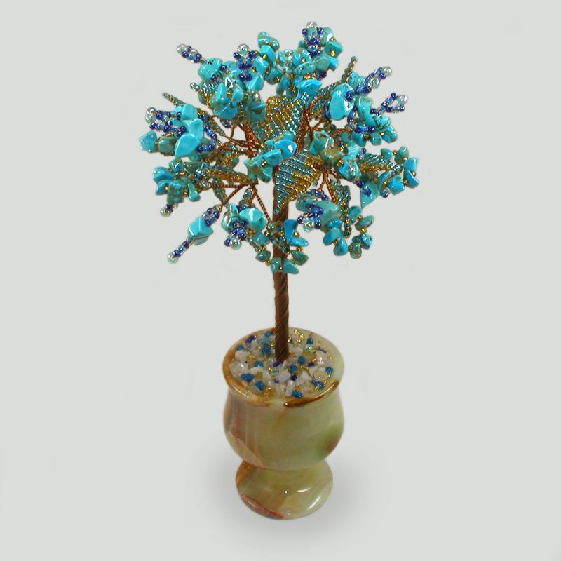 Дерево из бирюзы Асинан