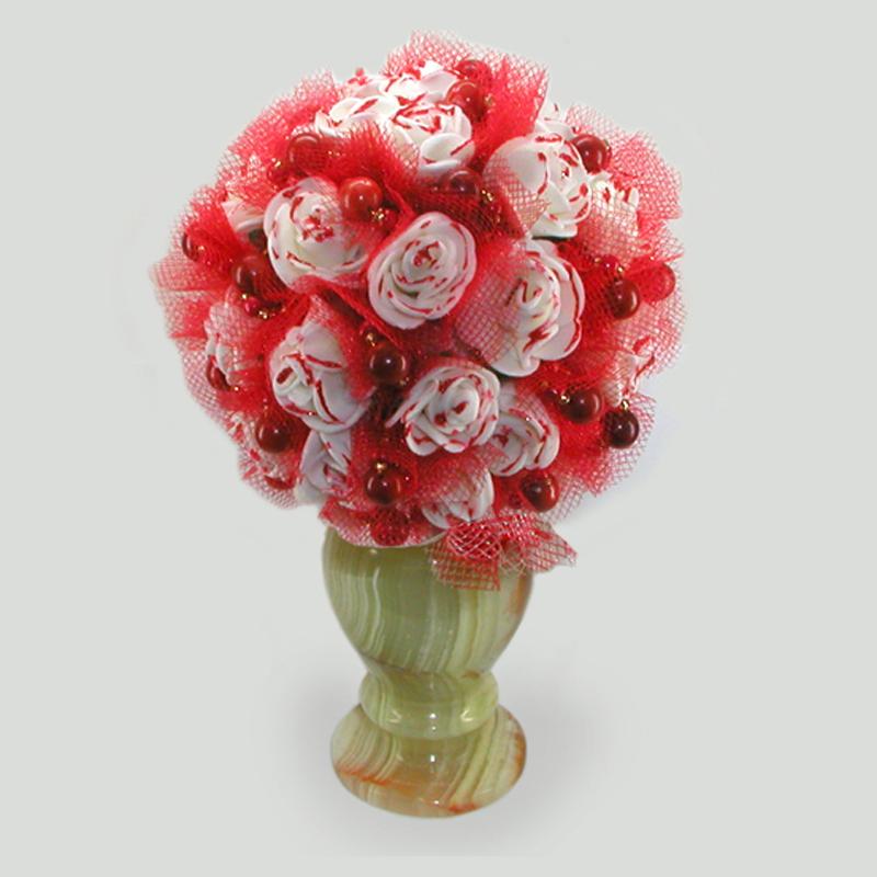 Цветы из коралла Ланира