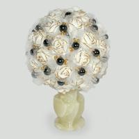 Цветы из гематита Иреен