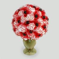 Цветы из граната