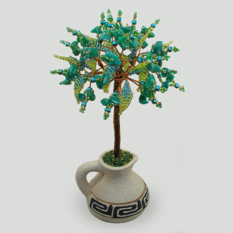 Дерево из амазонита Анисаш