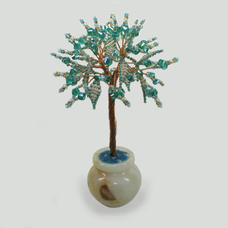 Дерево из горного хрусталя Пирена