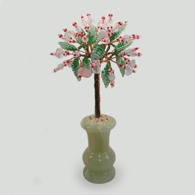 Дерево из розового кварца Соатни