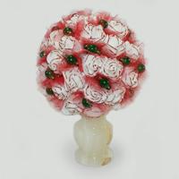Цветы из нефрита Мериден