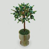 Дерево из малахита Мериди