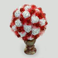 Цветы из сердолика