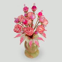 Цветы из агата Лорентия