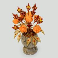 Цветы из янтаря Тириан