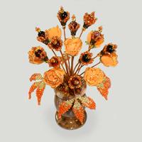 Цветы из сардоникса Ароин