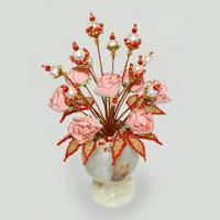 Цветы из жемчуга Ренни