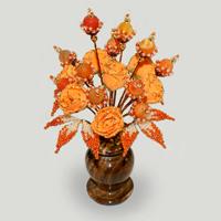 Цветы из агата Аера
