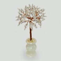 Дерево из горного хрусталя Тивари