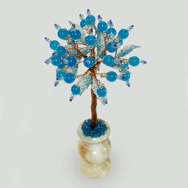 Дерево из топаза Зеталий