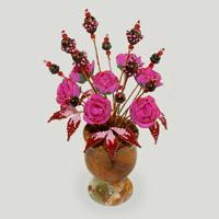 Цветы из авантюрина Мариана
