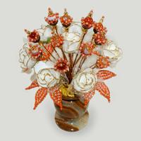 Цветы из сердолика Кейлалия