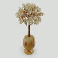 Дерево из горного хрусталя «Мелодия нежности»