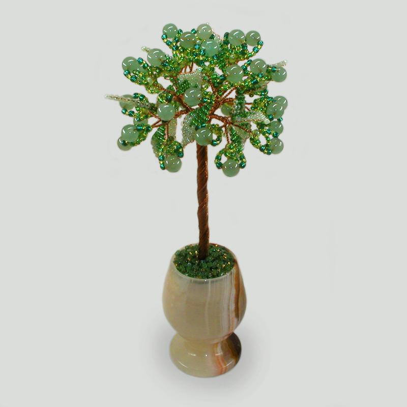 Дерево из нефрита «Весна рядом»