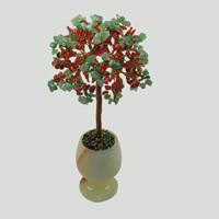 Дерево из нефрита «Влюбленная весна»