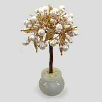 Дерево из жемчуга «Палитра нежности»