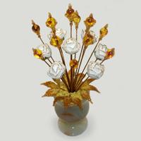 Цветы из янтаря «Обнять счастье»