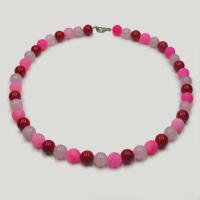 Бусы из коралла, розового кварца и агата «Радоваться успеху»