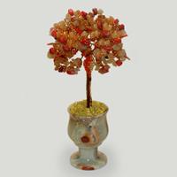 Дерево из коралла и сердолика «Страсти и добродетели»