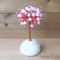 Купить дерево из розового кварца «Просто очарование»