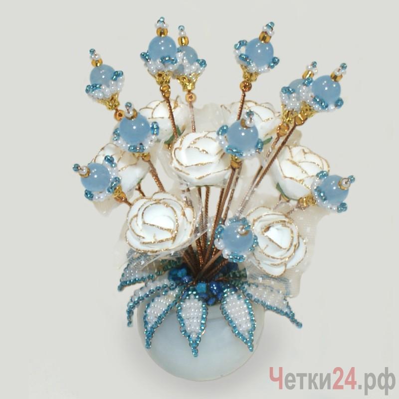 Цветы из топаза Зиэль