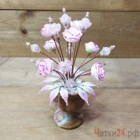 Купить цветы из розового кварца «Фантазии души»