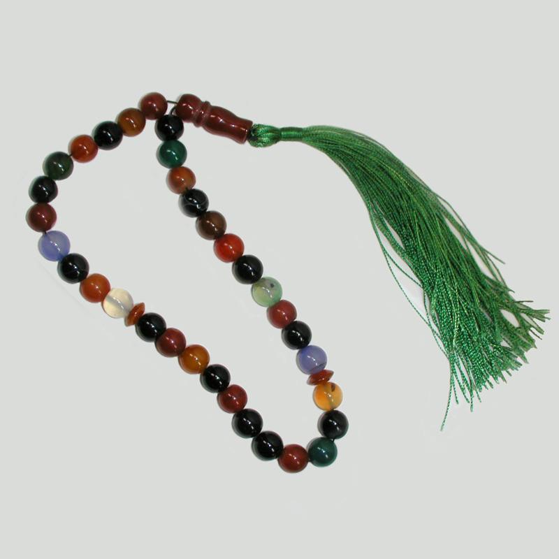 Купить четки счастья ручной работы из агата, сардоникса, нефрита и лунного камня в интернет-магазине Chetki24.ru